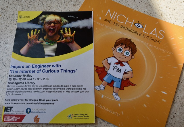 inspire an engineer and nicholas eyesight book