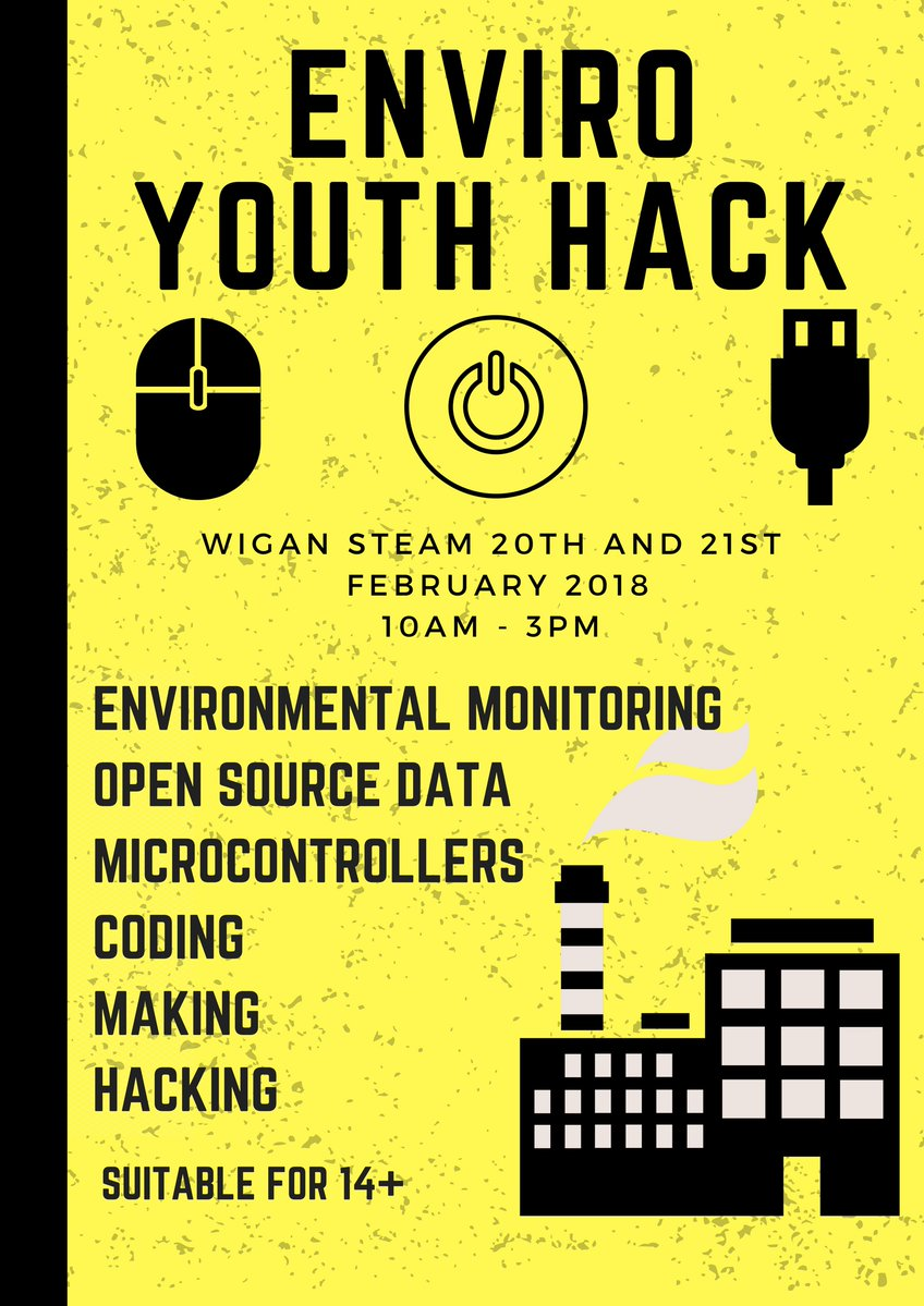 Headline image for Enviro Hack with Wigan STEAM